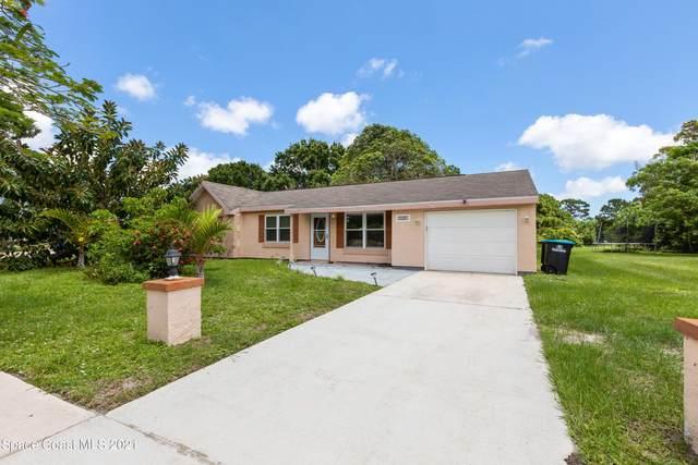 1401 Mariposa Drive NE, Palm Bay, FL 32905 (MLS #910530) :: Blue Marlin Real Estate