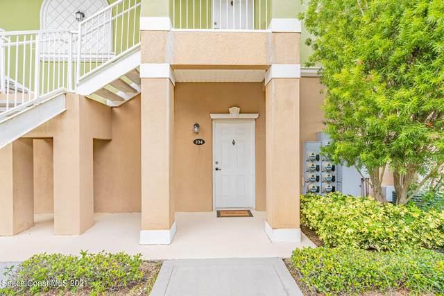 690 Short Hills Lane #104, Palm Bay, FL 32905 (MLS #910572) :: Keller Williams Realty Brevard