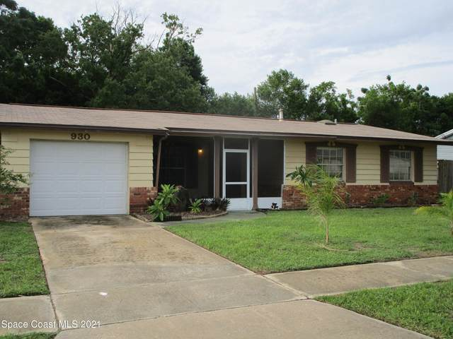930 Margie Drive, Titusville, FL 32780 (#910687) :: The Reynolds Team | Compass