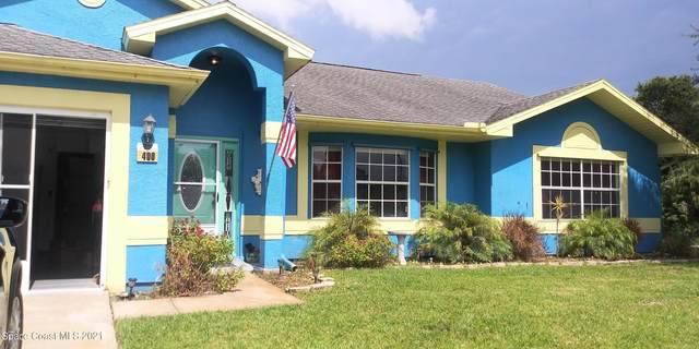400 Gilbert Drive NE, Palm Bay, FL 32907 (MLS #910715) :: Blue Marlin Real Estate