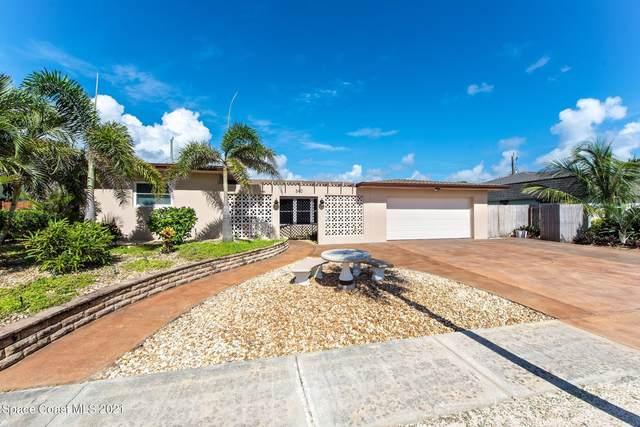 540 Coconut Street, Satellite Beach, FL 32937 (MLS #910884) :: Premium Properties Real Estate Services