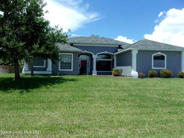 1800 Kara Place, Palm Bay, FL 32908 (MLS #910890) :: Blue Marlin Real Estate