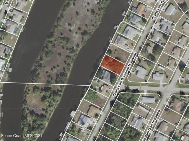 654 Spring Lake Boulevard NW, Port Charlotte, FL 33952 (MLS #911087) :: Keller Williams Realty Brevard