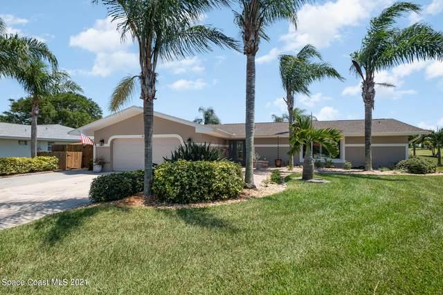 34 Fairway Drive, Cocoa Beach, FL 32931 (MLS #911270) :: Premium Properties Real Estate Services