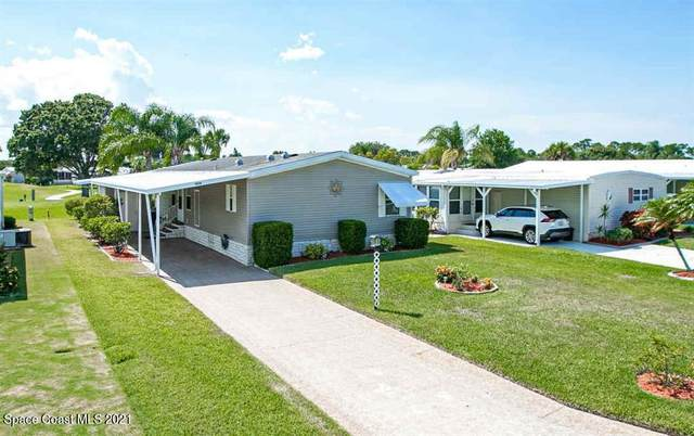 1434 Barefoot Circle, Barefoot Bay, FL 32976 (MLS #911280) :: Blue Marlin Real Estate