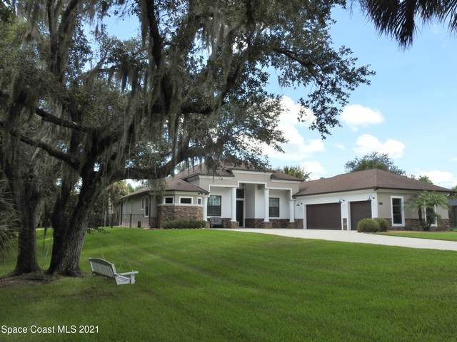 1493 Sitka Lane, Malabar, FL 32950 (MLS #911316) :: Blue Marlin Real Estate