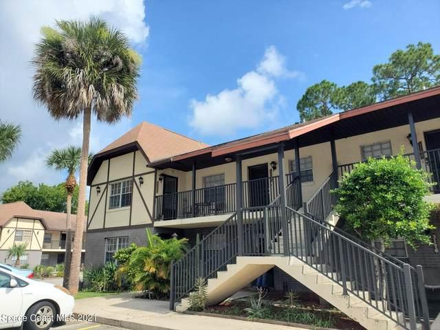 3124 Sir Hamilton Circle #2, Titusville, FL 32780 (MLS #911336) :: Blue Marlin Real Estate