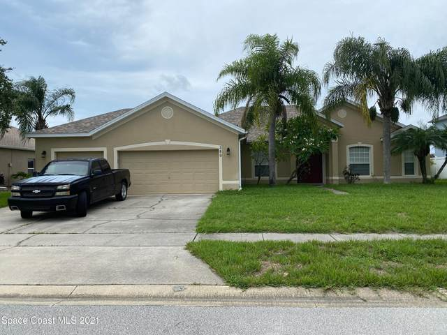 389 Tunbridge Drive, Rockledge, FL 32955 (MLS #911397) :: Keller Williams Realty Brevard