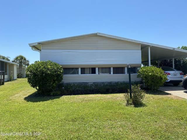 612 Hyacinth Circle, Barefoot Bay, FL 32976 (MLS #911429) :: Blue Marlin Real Estate