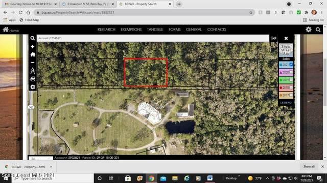 0 Unknown Street SE, Palm Bay, FL 32909 (MLS #911540) :: Vacasa Real Estate