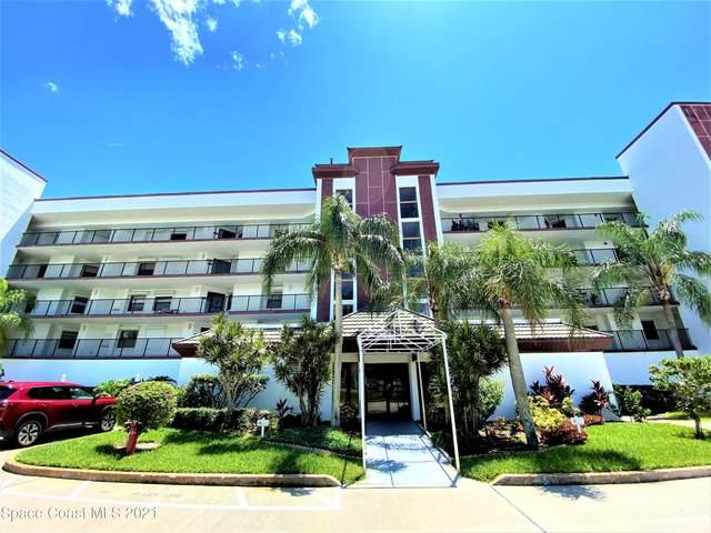 3613 S Banana River Boulevard #404, Cocoa Beach, FL 32931 (MLS #911563) :: Keller Williams Realty Brevard