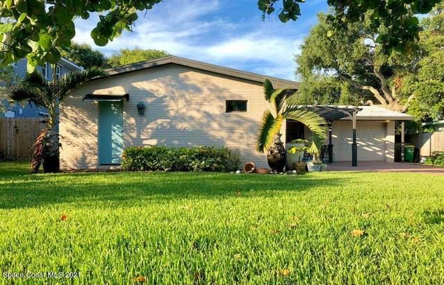 1345 Bay Shore Drive, Cocoa Beach, FL 32931 (MLS #911566) :: Blue Marlin Real Estate