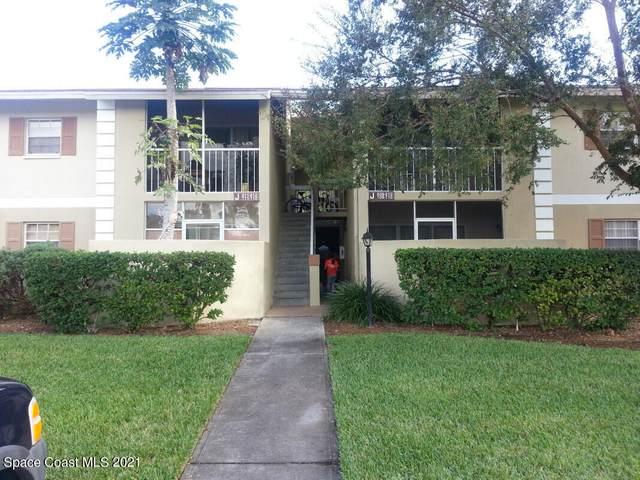 1680 Sunny Brook Lane NE J212, Palm Bay, FL 32905 (MLS #911594) :: Blue Marlin Real Estate
