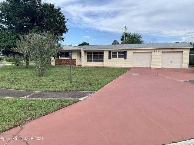 899 Barclay Drive, Cocoa, FL 32927 (MLS #911625) :: Premier Home Experts
