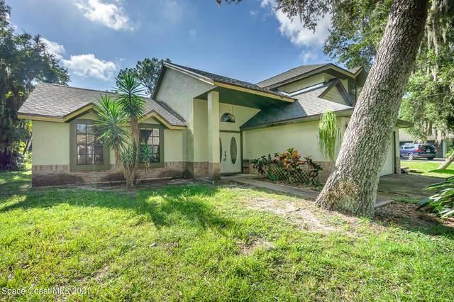 1421 Ruffin Circle SE, Palm Bay, FL 32909 (MLS #911654) :: Blue Marlin Real Estate