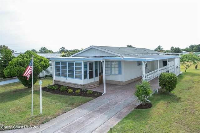 825 Thrush Circle, Barefoot Bay, FL 32976 (MLS #911660) :: Blue Marlin Real Estate