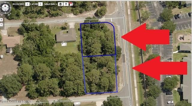 601-602 2 Corner Lots Toni And Sanford Street SW, Palm Bay, FL 32908 (MLS #911793) :: Premier Home Experts