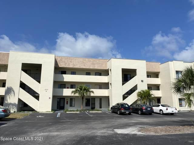 200 International Drive #805, Cape Canaveral, FL 32920 (MLS #911799) :: Premium Properties Real Estate Services