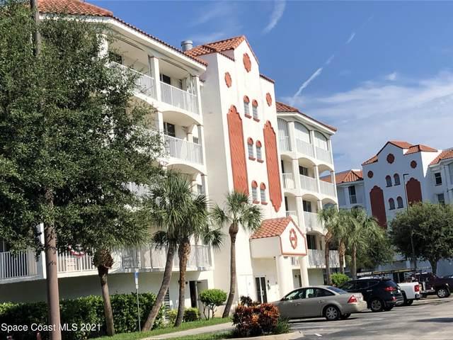 8934 Puerto Del Rio Drive #8403, Cape Canaveral, FL 32920 (MLS #911821) :: Premium Properties Real Estate Services