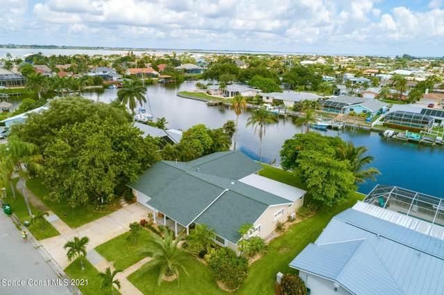 467 Aruba Court, Satellite Beach, FL 32937 (MLS #911935) :: Premier Home Experts