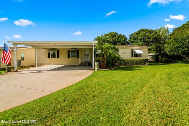 245 Outer Drive, Cocoa, FL 32926 (MLS #912090) :: Blue Marlin Real Estate