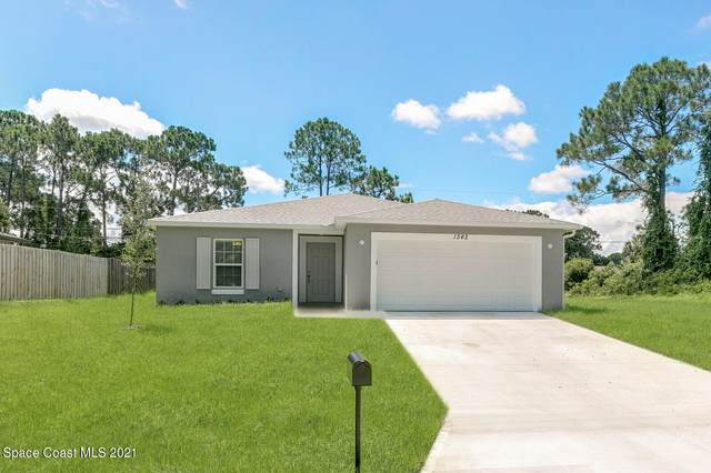 1163 Brickell Street SE, Palm Bay, FL 32909 (MLS #912515) :: Keller Williams Realty Brevard