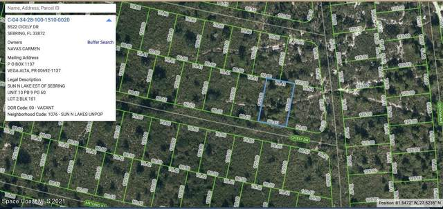 8522 Cicely Drive, Sebring, FL 33870 (MLS #912533) :: Keller Williams Realty Brevard