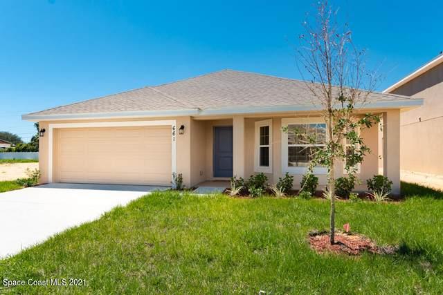 2562 Pinwherry Street NW, Palm Bay, FL 32907 (MLS #912637) :: Blue Marlin Real Estate