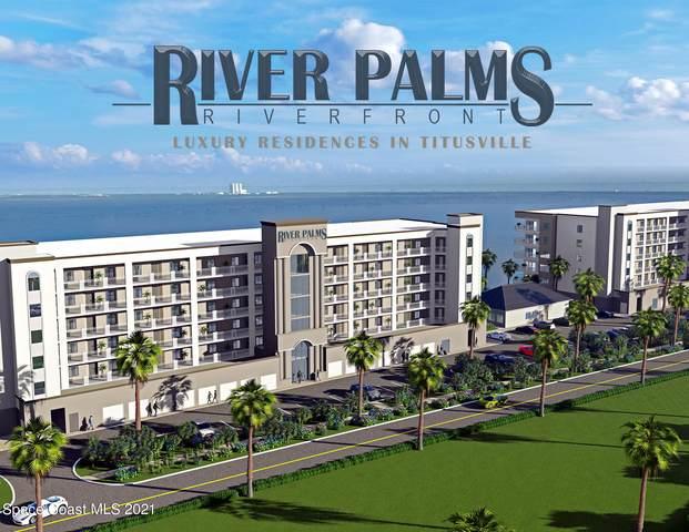 1805 Riverside Drive 509N, Titusville, FL 32780 (MLS #912835) :: Blue Marlin Real Estate