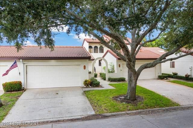 313 Parkside Place #313, Indian Harbour Beach, FL 32937 (MLS #913130) :: Blue Marlin Real Estate