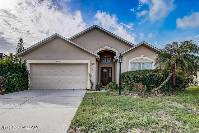 2509 Alicia Lane, Melbourne, FL 32935 (MLS #913485) :: Blue Marlin Real Estate