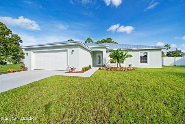 5020 White Heron Lane, Melbourne, FL 32934 (MLS #913582) :: Keller Williams Realty Brevard