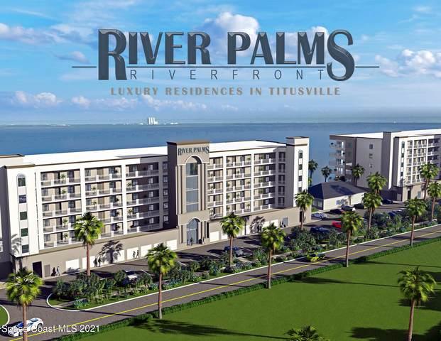 1805 Riverside Drive 301N, Titusville, FL 32780 (MLS #913602) :: Blue Marlin Real Estate