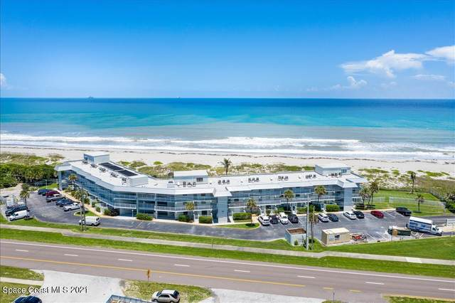 2101 S Atlantic Avenue #110, Cocoa Beach, FL 32931 (MLS #913698) :: Keller Williams Realty Brevard