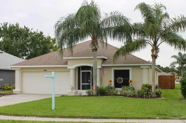 3839 Sunflower Court, Merritt Island, FL 32953 (MLS #913975) :: Blue Marlin Real Estate