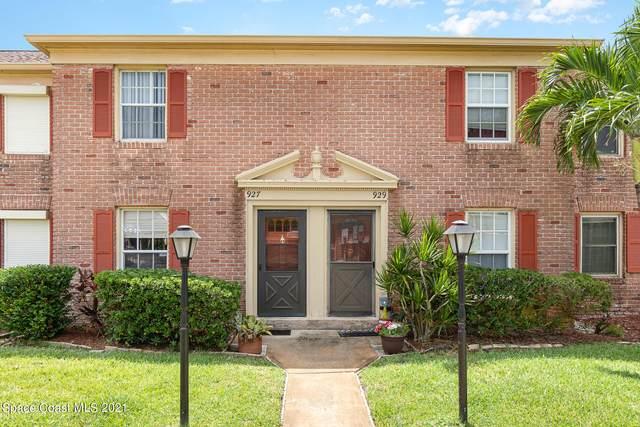 927 Jamestown Avenue #105, Indian Harbour Beach, FL 32937 (MLS #914314) :: Keller Williams Realty Brevard