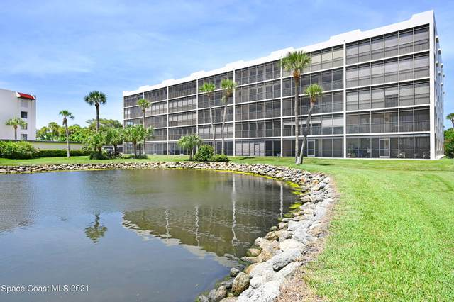 5805 N Banana River Boulevard #1115, Cape Canaveral, FL 32920 (MLS #914672) :: Blue Marlin Real Estate
