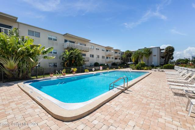 223 Columbia Drive #321, Cape Canaveral, FL 32920 (MLS #914695) :: Blue Marlin Real Estate
