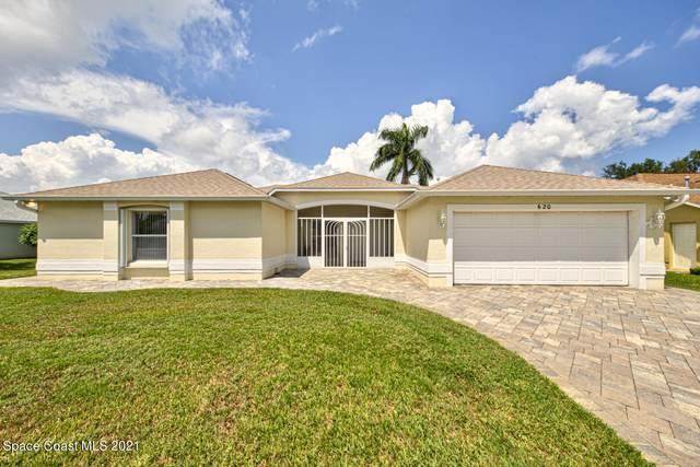 620 Wild Flower Street, Merritt Island, FL 32953 (MLS #915202) :: Blue Marlin Real Estate