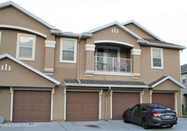 4076 W Meander Place W #207, Rockledge, FL 32955 (MLS #915262) :: Blue Marlin Real Estate