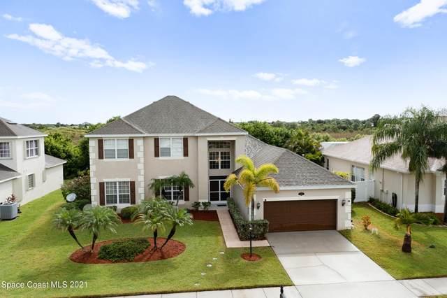3416 Peninsula Circle, Melbourne, FL 32940 (MLS #915295) :: Dalton Wade Real Estate Group