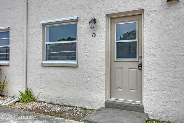 55 Needle Boulevard #76, Merritt Island, FL 32953 (MLS #915313) :: Blue Marlin Real Estate