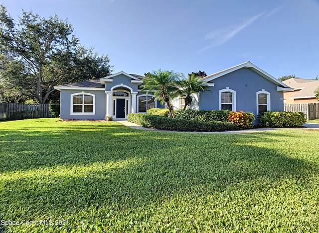 881 Spanish Cay Drive, Merritt Island, FL 32952 (MLS #915322) :: Blue Marlin Real Estate