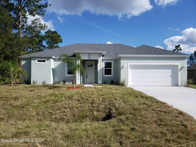 338 Brickell Street SE, Palm Bay, FL 32909 (MLS #915373) :: Blue Marlin Real Estate