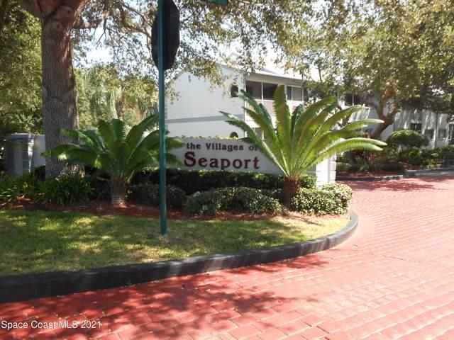 307 Ocean Park Lane #92, Cape Canaveral, FL 32920 (MLS #915470) :: Engel & Voelkers Melbourne Central
