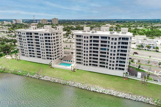 1435 S Harbor City Boulevard #801, Melbourne, FL 32901 (MLS #915895) :: Blue Marlin Real Estate