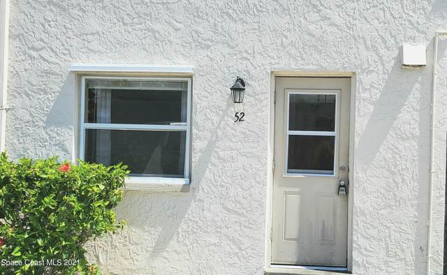55 Needle Boulevard #52, Merritt Island, FL 32953 (MLS #916071) :: Blue Marlin Real Estate