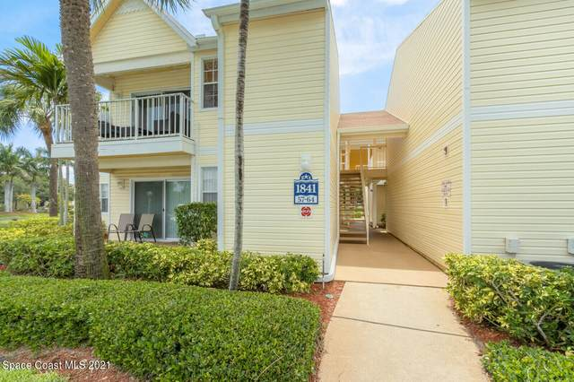 1841 Island Club Drive #57, Indialantic, FL 32903 (MLS #916076) :: Engel & Voelkers Melbourne Central