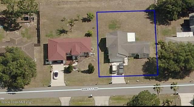 973 Banks Street NW, Palm Bay, FL 32907 (MLS #916188) :: Blue Marlin Real Estate