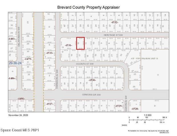 282 Heritage Street SW, Palm Bay, FL 32908 (MLS #916251) :: Blue Marlin Real Estate